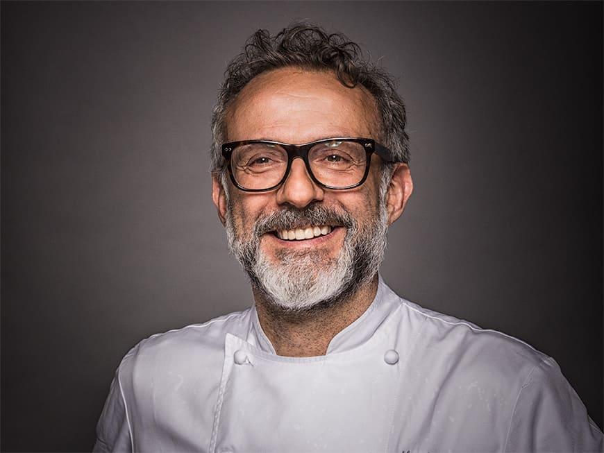Massimo Bottura ist Besitzer und Chefkoch des Restaurants Osteria Francescana