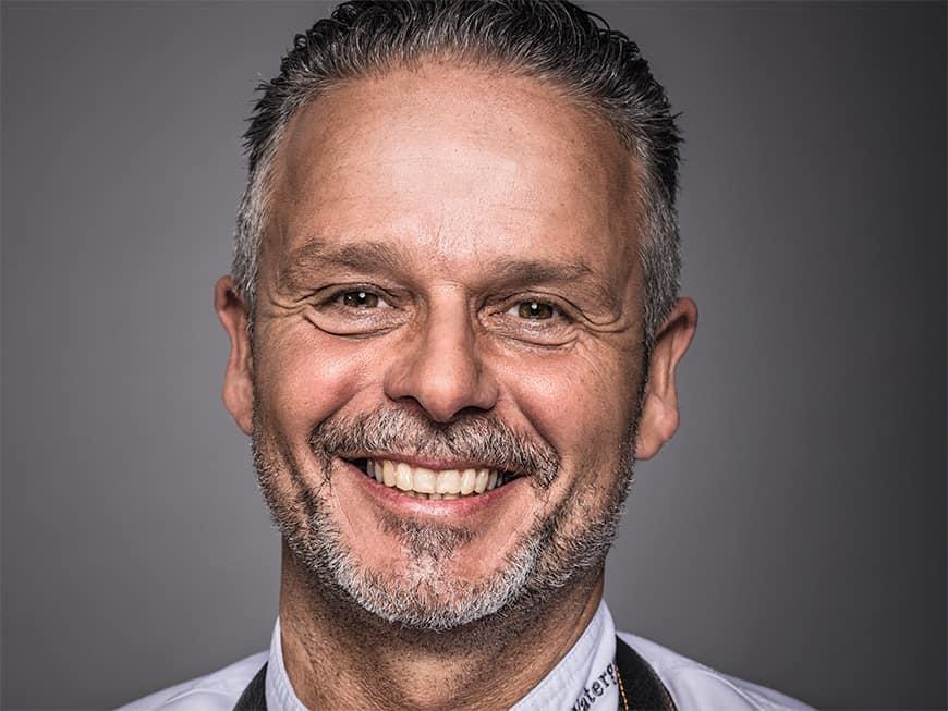 Edwin Vinke ist Eigentümer und Chefkoch des holländischen Restaurants De Kromme Watergang
