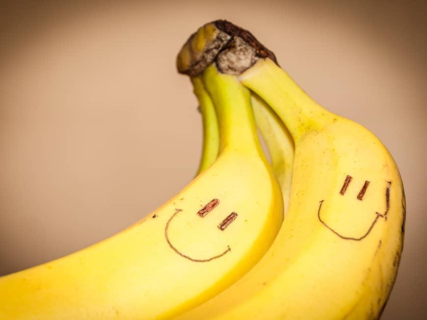 Warum machen Bananen glücklich?