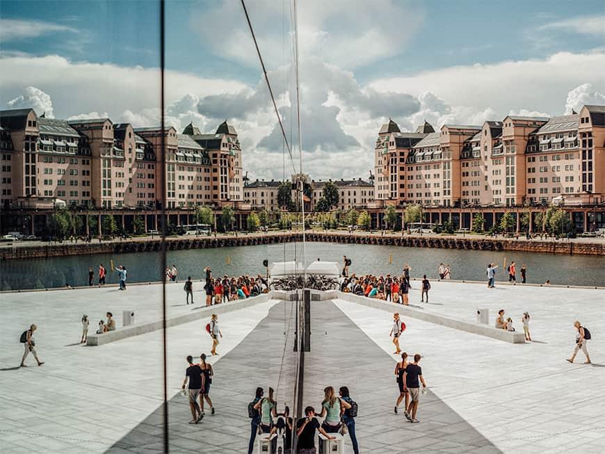 Stadtbild von Oslo
