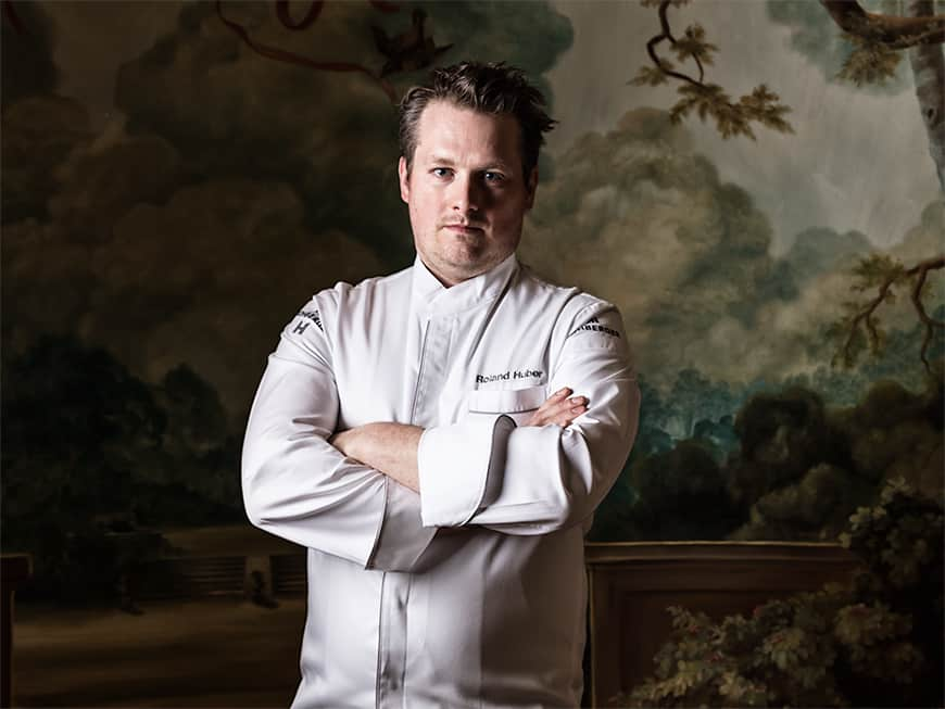Roland Huber reifte im Wiener Gourmettempel Le Ciel vom überragenden Kochtalent zum abgebrühten Küchenchef.