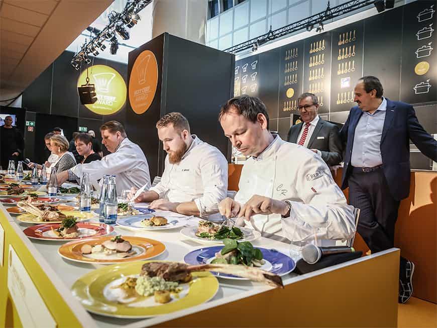 next chef 2018 Verkostung