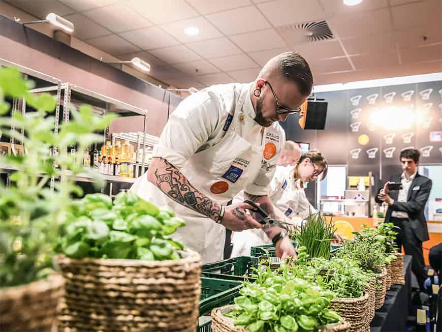 Maximilian Schultz, der Gewinner des Next Chef Awards 2017