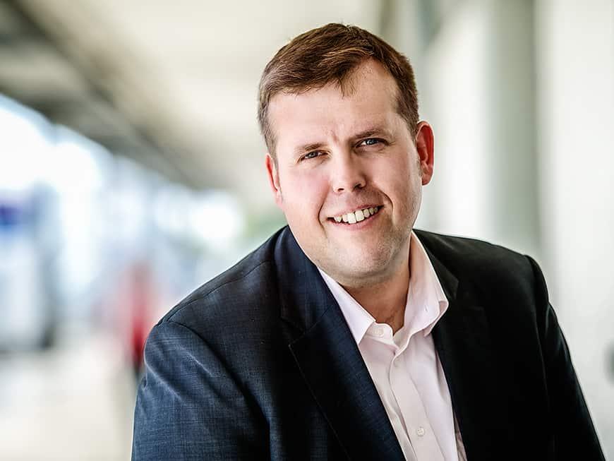 """Marcel Freise, operativer Geschäftsführer bei CF Gastro, hat einen Grundsatz: """"Alle Sortimente aus einer Hand""""."""