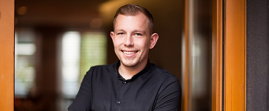 Alexander Seiser, der neue Sommelier im Rutz in Berlin