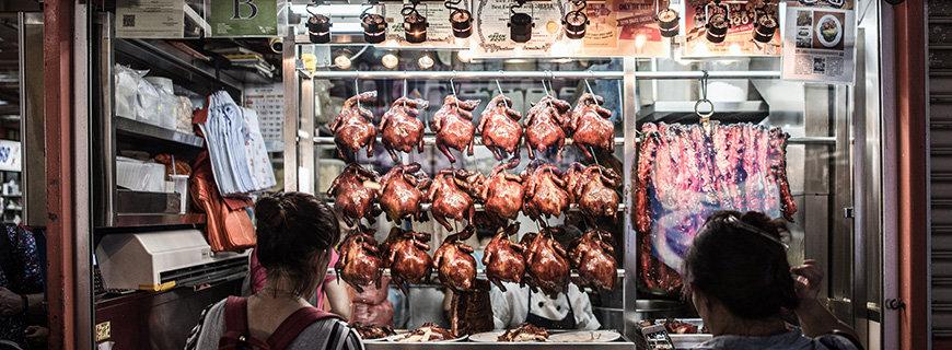 Garküche Hong Kong Soya Sauce Chicken Rice & Noodles (Singapur)