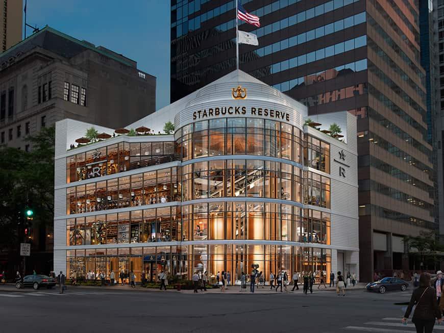 Starbucks eröffnet 2019 mega store in Chicago