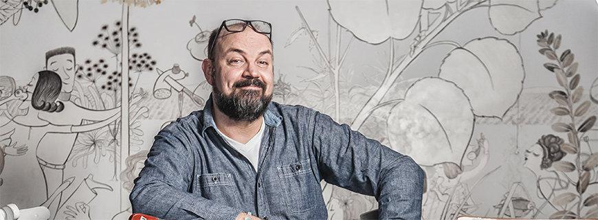 Porträtfoto von Tom Roßner, dem Betriebsleiter der Hamburger Bullerei.