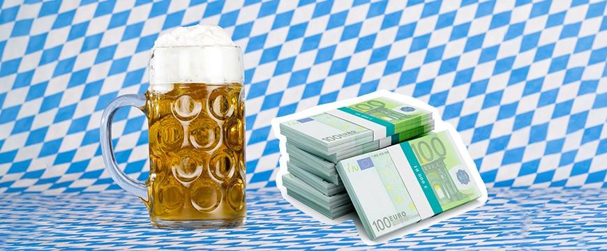 Die Preise für das Bier steigen erneut um mehr als 3 Prozent!