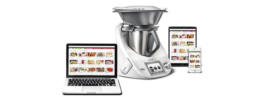 Geniales Trio: Mit dem Cook-Key® lassen sich das Online-Rezept-Portal Cookidoo® und der Thermomix® in Nullkommanichts verbinden