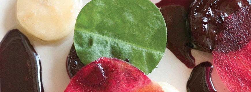 eine kulinarische Kreation des aktuellen Rising Star am Gourmethimmel