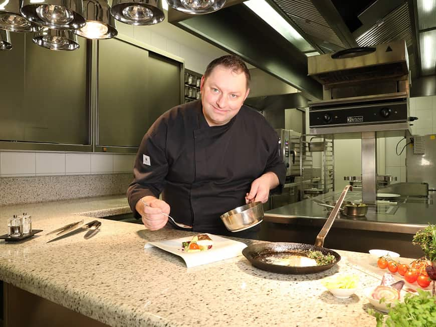 Tommy Hobeck ist neuer Executive Chef im Atlantic Grand Hotel Travemünde