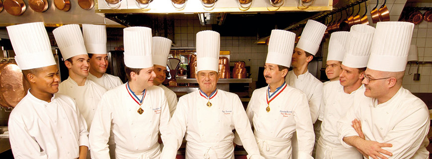 Toni Mörwald in Tour - Paul Bocuse, Lyon