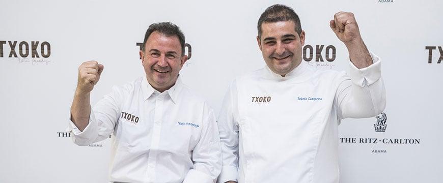Chefkoch Martin Berasategui, Executive Chef Erlantz Gorostiza