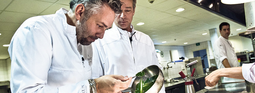 Jannis Brevet, Patron des Manoir Restaurants Inter Scaldes