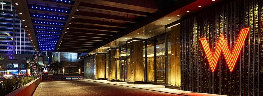 W Hotel in Taipei - bald auch in Edinburgh!