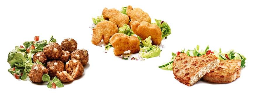 Vegetarische Angebote von Valess