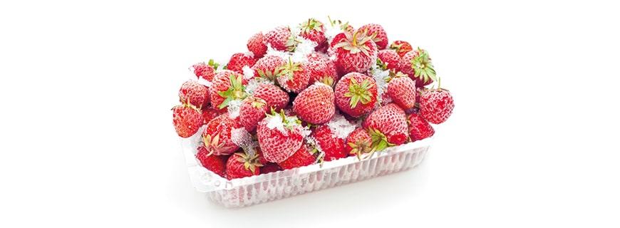 Convenience Erdbeeren