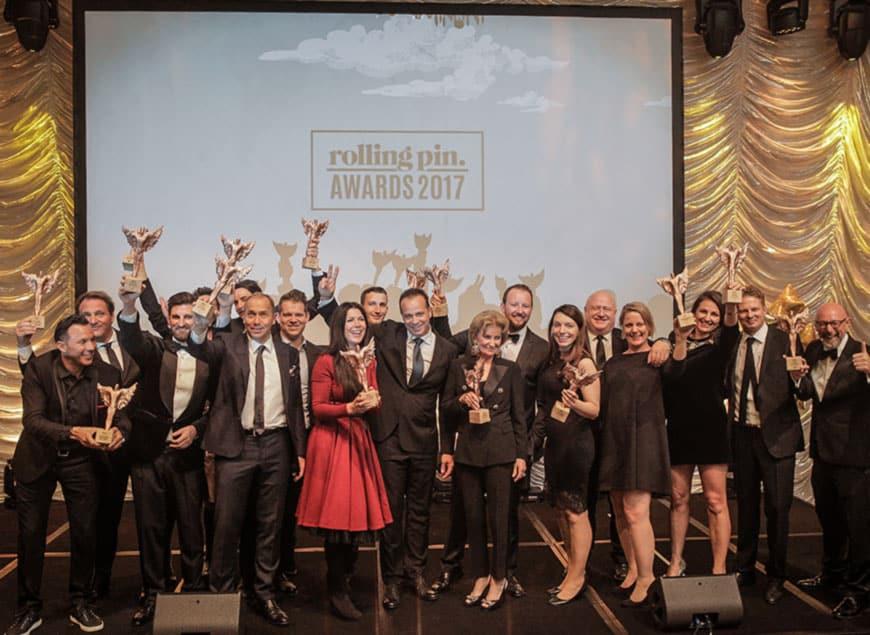 Das sind die Gewinner der ROLLING PIN-Awards 2017 Österreich.