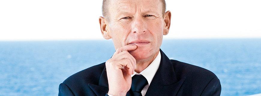 Hotel-Manager Johann Schrempf