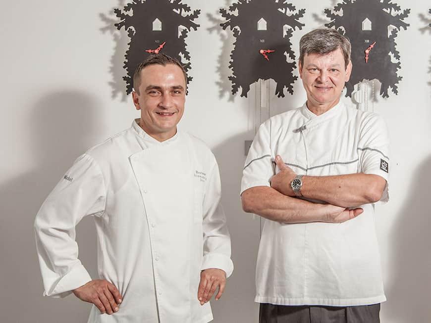 Harald Wohlfahrt und Torsten Michel