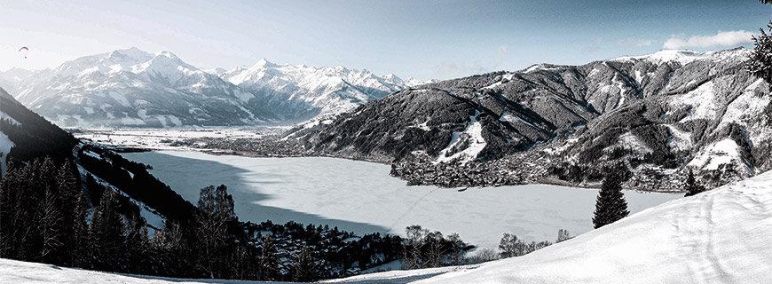 Region Zell am See im Winter
