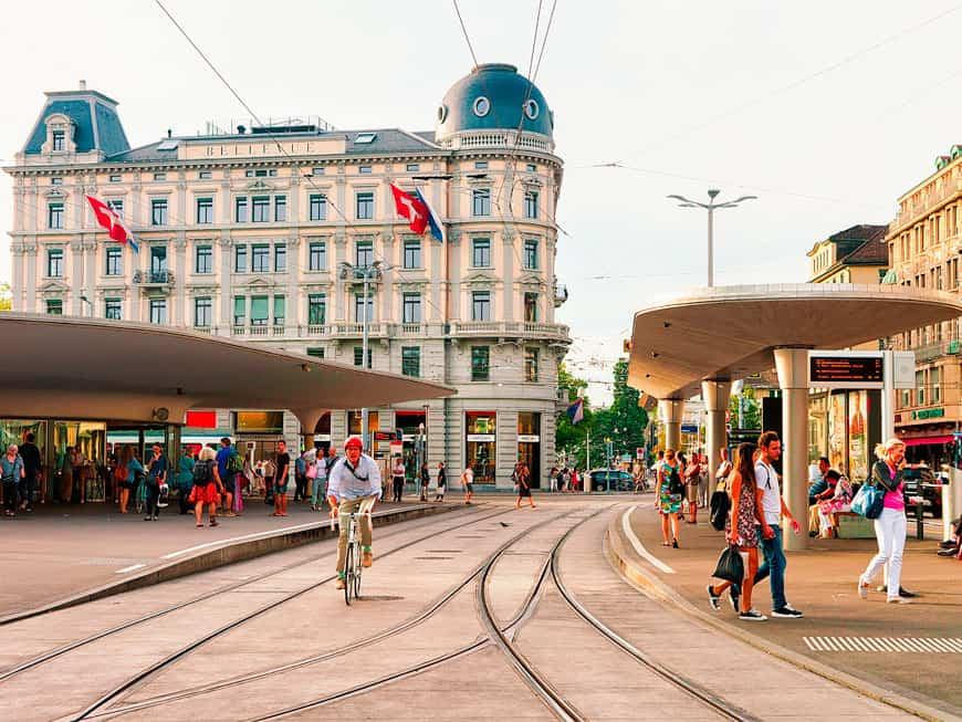 Züricher Innenstadt