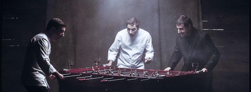 Die drei Brüder Joan, Josep und Jordi Roca beherrschen das Spiel der Gastronomie aus dem Effeff.