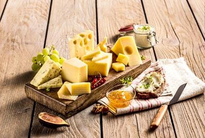 Käsesorten von SalzburgMilch