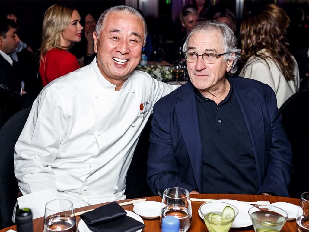 Weil Robert De Niro Nobu Matsuhisa und sein Essen mochte, konnte sich dieser einen Namen machen.