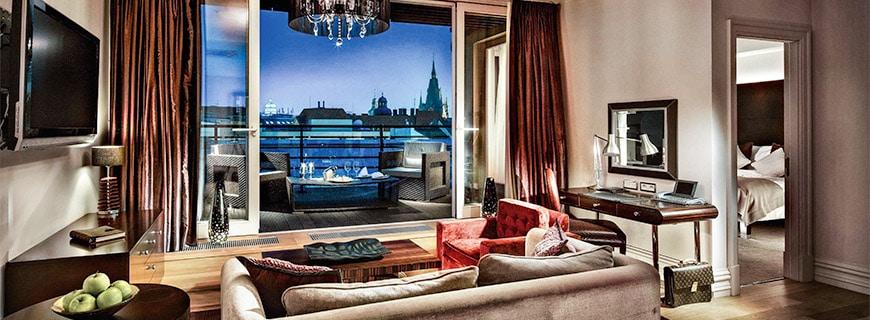 Prager Hotelaussicht