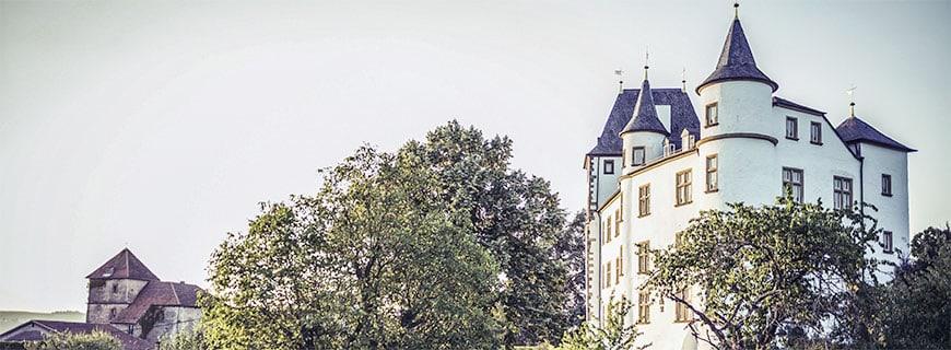 Schloss Berg, in dem sich Victor's Fine Dining befindet.