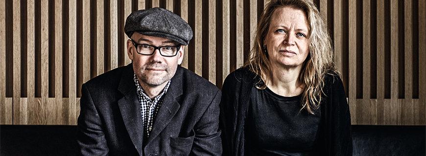 Oaxen-Geschäftsführung: Magnus Ek und Agneta Green sitzen nebeneinander