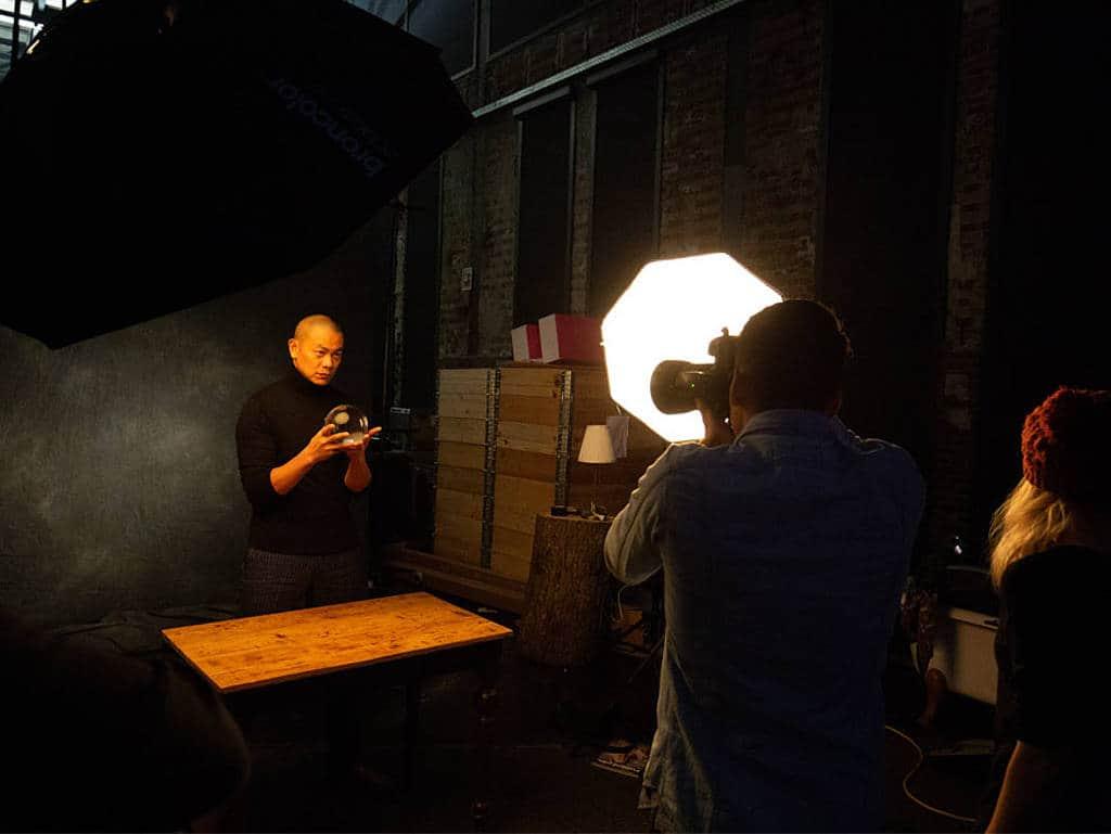 André Chiang beim Foto-Shooting auf den Chefdays Berlin