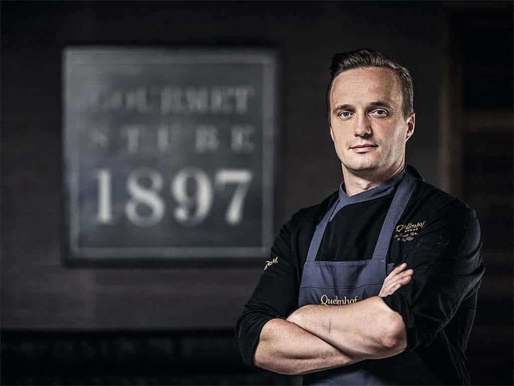 Küchenchef im Quellenhof Michael Mayr