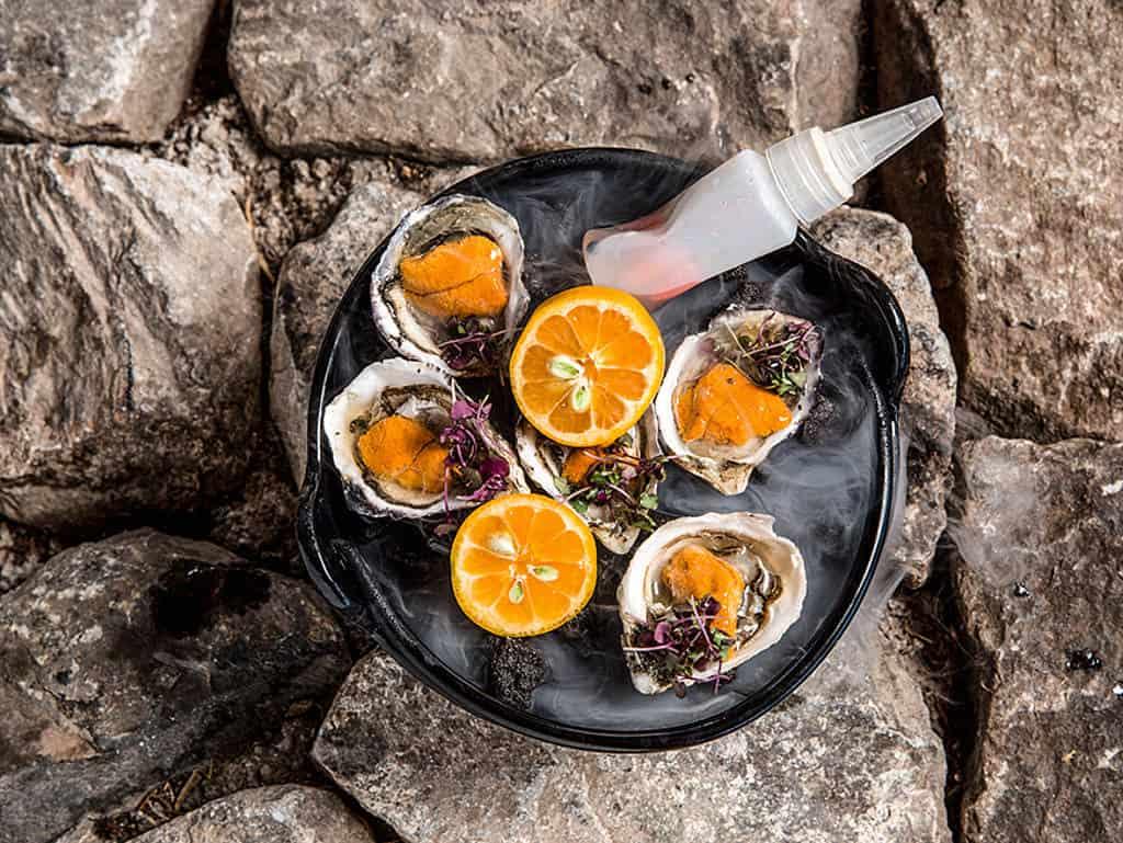 Frischeste Meeresfrüchte im Hotel Ritz Carlton auf Maui
