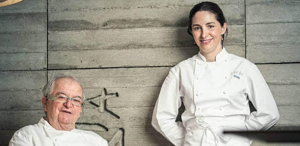 Familie Arzak: Mit Elena Arzak steht bereits die vierte Generation am Herd des Restaurants.