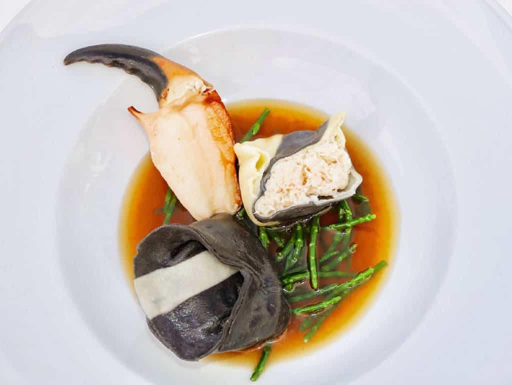 Im Rickmers Galerie- Restaurant trifft Luxus auf regionale Produkte