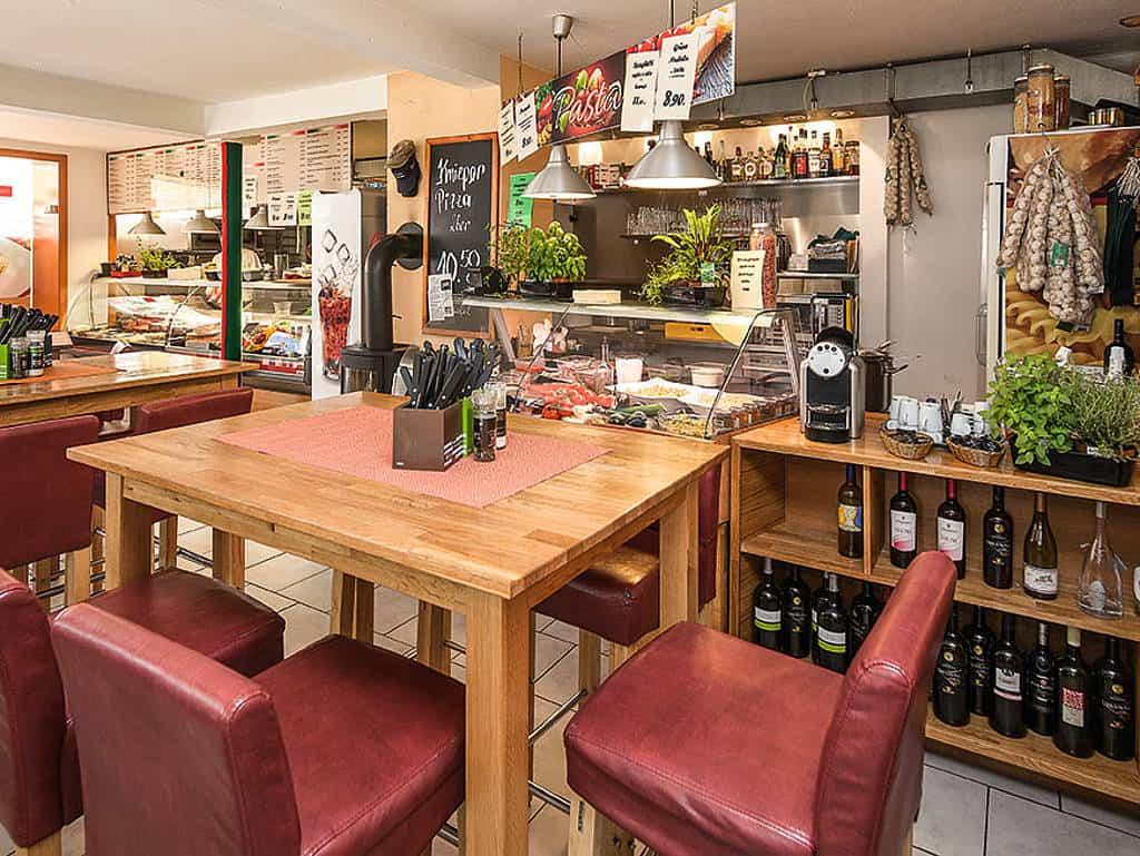 Italienisches Flair auf Helgoland: In Bruns Pizzeria gibt es alles, was das mediterrane Herz begehrt