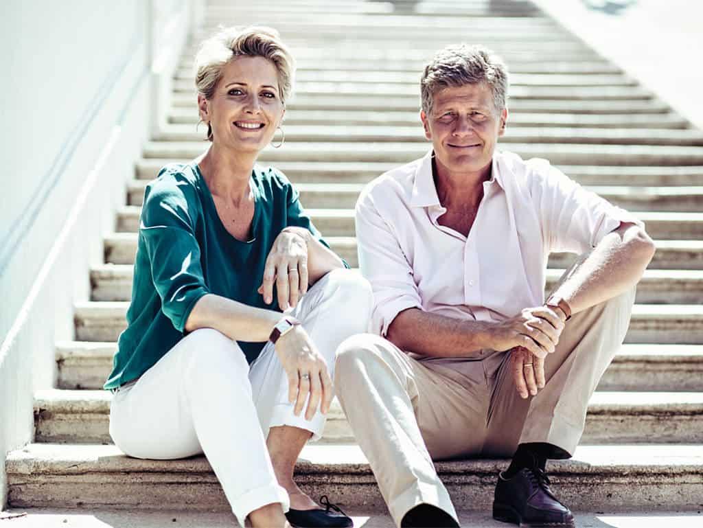 Gault-Millau-Herausgeber Martina und Karl Hohenlohe