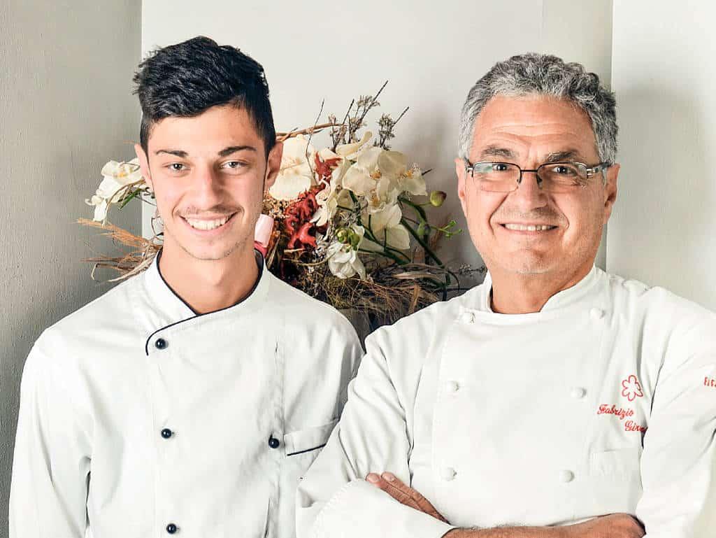 In Lucca, der Nachbarstadt von Florenz, kochen Fabrizio und Andrea Girasoli auf Sterneniveau