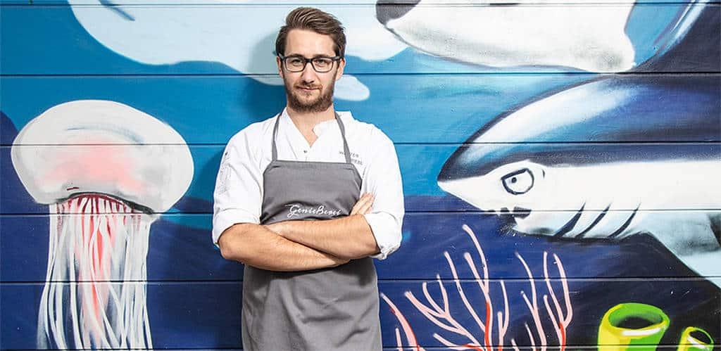 Genießerei: Walter Triebl macht mit seiner Marktküche am Kaiser-Josef-Platz glücklich.
