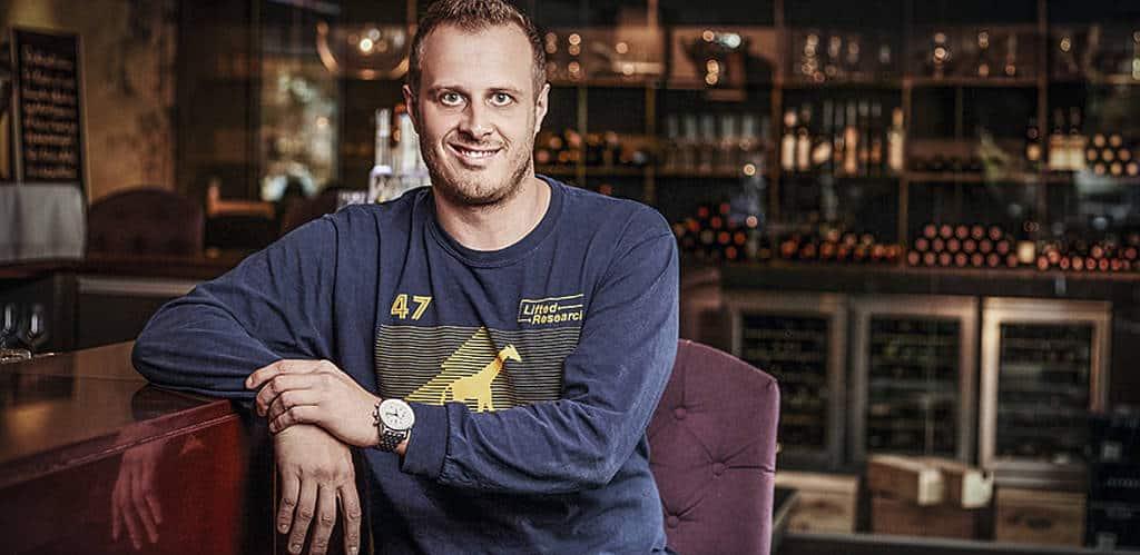 Philipp Haiges ist Kopf des Spitzenrestaurants Carl direkt neben der Oper Graz.