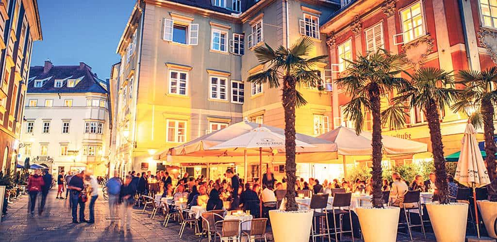 Restaurant Eckstein am Mehlplatz: Michael Hebenstreit erkochte hier 14 Gault-Millau-Punkte