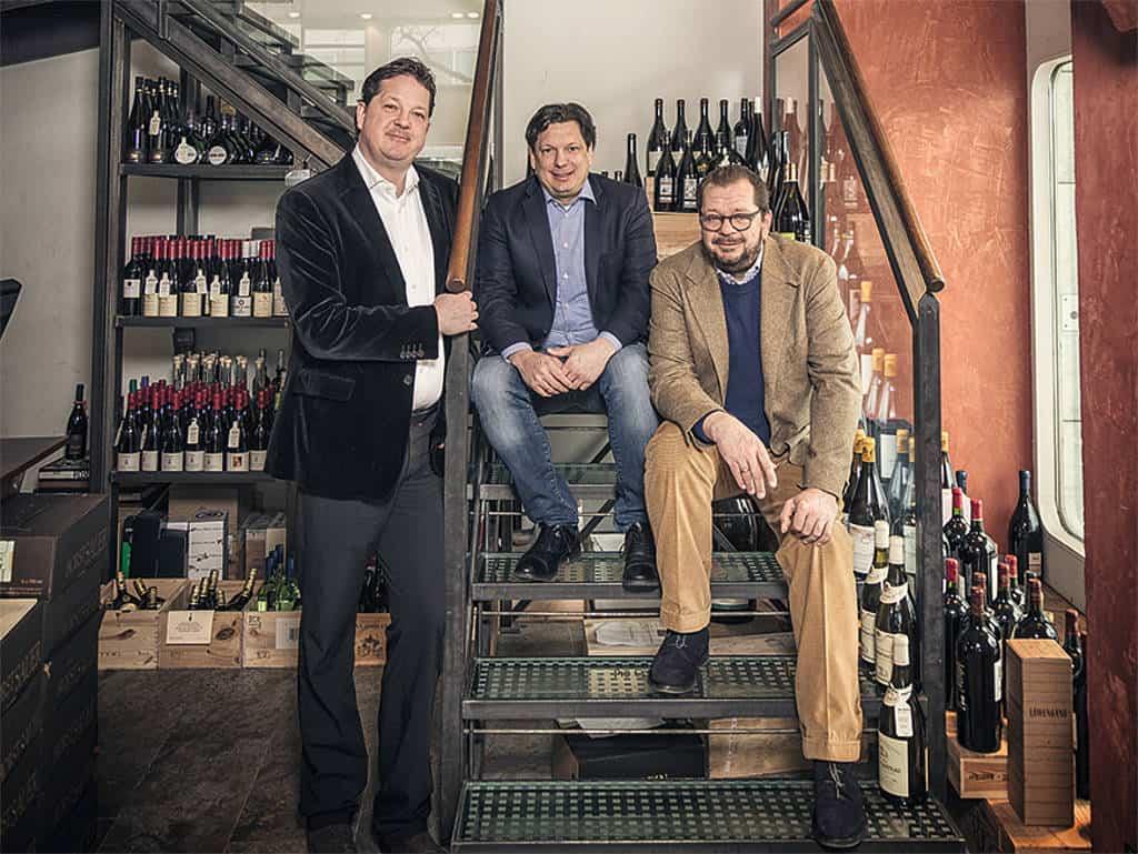 Michael, Stephan und Carl Geisel