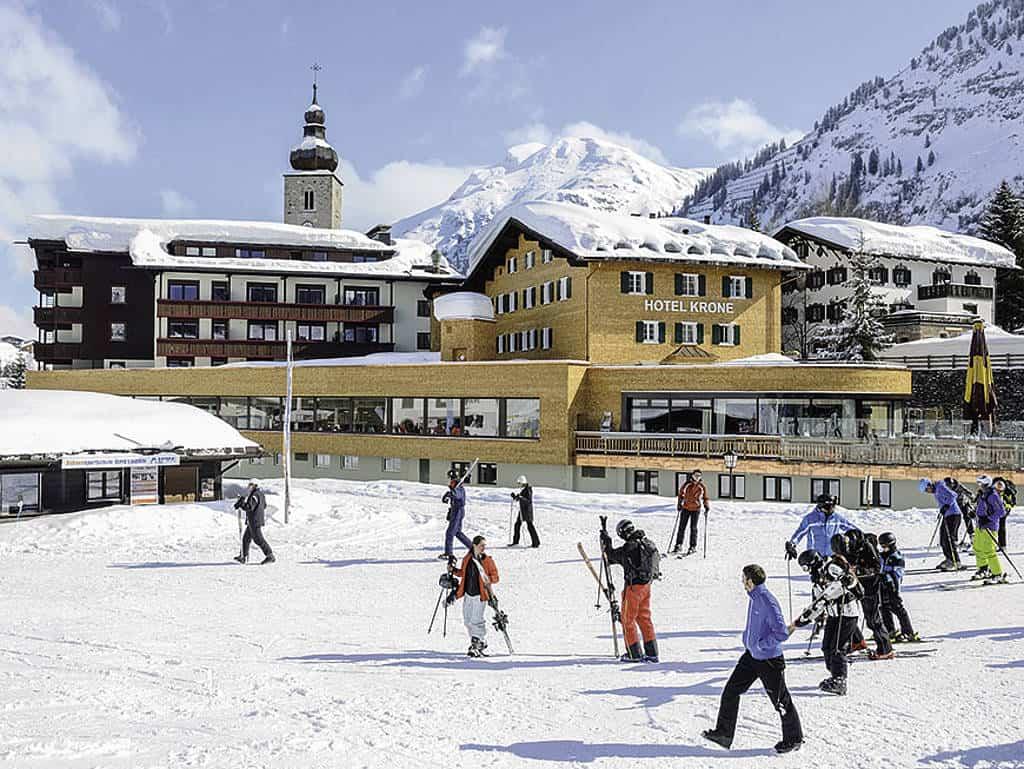 Romatik Hotel die Krone von Lech