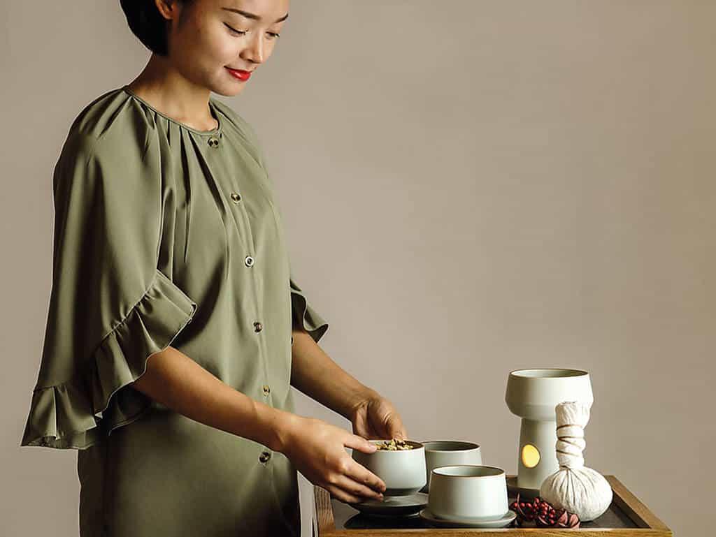 traditionellen Teekurse