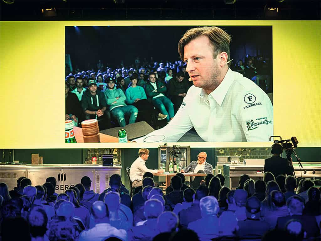 Kevin Fehling im Talk mit Jürgen Pichler