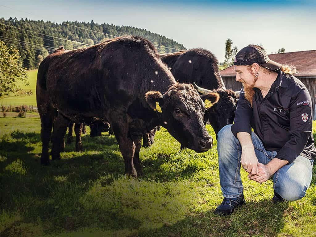 Lucki und seine Kuh