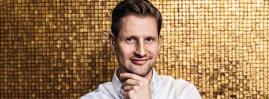 2-Sterne-Koch Michael Kempf aus dem Restaurant Facil